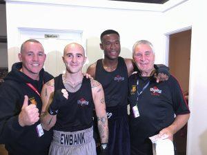 Kent Champions  Jack Ewbank & Jez Achong.